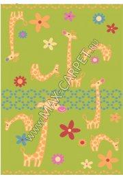Детский ковер Funky Giraffe a lime