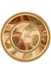 Польский ковер из шерсти Cygnus sahara Round