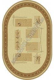 Шерстяной молдавский ковер Abstract Lavanda 234-1149 Овал