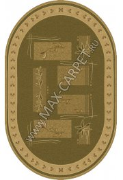 Шерстяной молдавский ковер Abstract Lavanda 234-5542 Овал