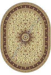 Шерстяной молдавский ковер Classic Isfahan 207-1149 Овал