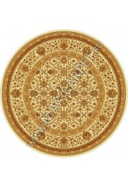 Шерстяной молдавский ковер Classic Arabes 306-1149 круг