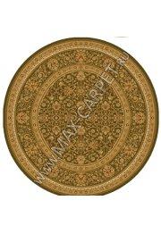 Шерстяной молдавский ковер Classic Arabes 306-5542 круг