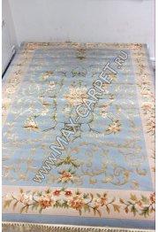 Китайский ковер ручной работы WOOL&VISCOSЕ 1855C — Blue