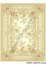 Бельгийский ковер из вискозы Venezia 5095 192874 ivory
