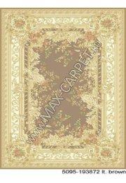 Бельгийский ковер из вискозы Venezia 5095 193872 lt brown