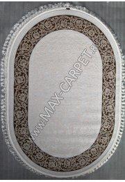 Турецкий ковер Hunkar 07902A brown / brown Овал