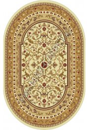 Молдавский ковер из шерсти European Ermitage 265-1659 Овал