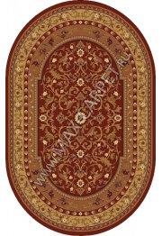 Молдавский ковер из шерсти European Ermitage 265-3658 Овал