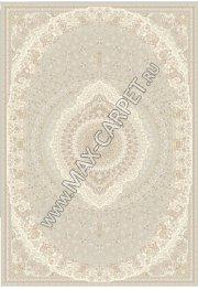 Бельгийский ковер из шелка UNIQUE 0IS074 — L. GREY PSTL P6