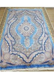 Ковер из шелка QUM 001206 blue