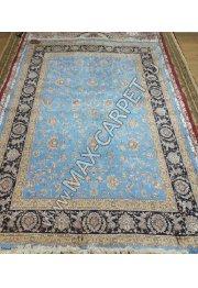 Ковер из шелка QUM 01201E blue