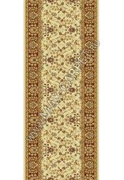 Шерстяная ковровая дорожка Floare-carpet 139 MASHAD 61149 ELITE