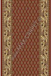 Шерстяная ковровая дорожка Floare-carpet 148 BUTA 63658 CLASSIC