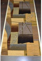 Шерстяная ковровая дорожка Floare-carpet 250 FREGAT 61149 ELITE
