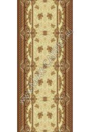 Шерстяная ковровая дорожка Floare-carpet 209 DOFIN 1149 CLASSIC