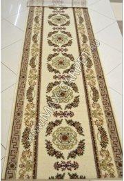 Шерстяная ковровая дорожка Floare-carpet 252 ELITA 1126 CLASSIC