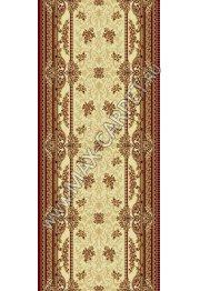Шерстяная ковровая дорожка Floare-carpet 209 DOFIN 1659 CLASSIC