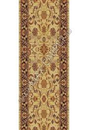 Шерстяная ковровая дорожка Floare-carpet 267 NIZAMI 16591 ANTIQUE