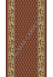 Шерстяная ковровая дорожка Floare-carpet 148 BUTA 3658 CLASSIC
