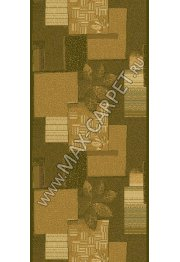 Шерстяная ковровая дорожка Floare-carpet 196 CASHTAN 5542 CLASSIC