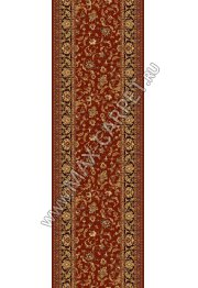 Шерстяная ковровая дорожка Floare-carpet 305 NAIN 63658 ELITE