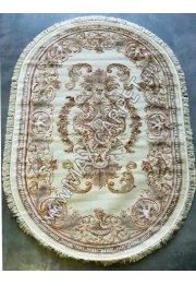 Бельгийский ковер из вискозы Kunduz 5060 OVAL 498440