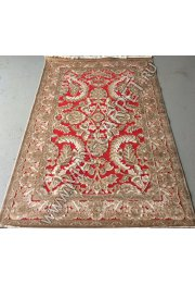 Бельгийский ковер из вискозы Kunduz 5010 498620 RED