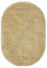 Длинноворсовый ковер Shaggy Ultra S600 — BEIGE Oval