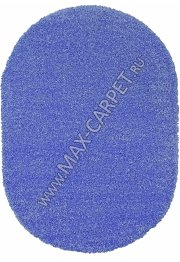 Длинноворсовый ковер Shaggy Ultra S600 — BLUE Oval