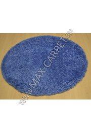 Длинноворсовый ковер Shaggy Ultra S600 — BLUE Krug