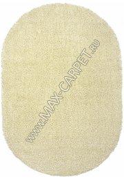 Длинноворсовый ковер Shaggy Ultra S600 — CREAM Oval