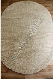 Длинноворсовый ковер Shaggy Ultra S600 — CREAM-BEIGE Oval