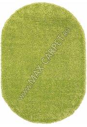 Длинноворсовый ковер Shaggy Ultra S600 — GREEN Oval