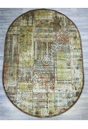 Бельгийский ковер из вискозы Genova 38405 729271 OVAL