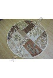 Бельгийский ковер из вискозы Genova 38428-626260 Круг