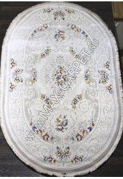 Турецкий ковер Truva 08325a beige Овал