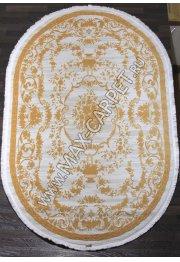 Турецкий ковер Truva 08330c orange Овал