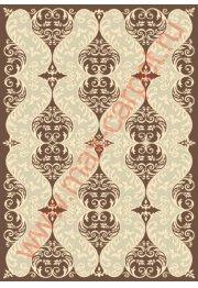 Длинноворсый турецкий ковер Pierre Cardin Bianco 3755A
