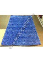 ковер длинноворсовый Shaggy Lazenie 00063A BLUE BLUE