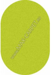 ковер длинноворсовый Shaggy Lazenie 00063A GREEN GREEN овал