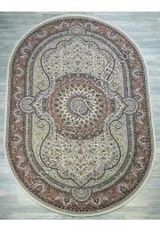 Узбекский ковер Sultanate 7705 OVAL BEYAZ GUL Овал