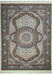 Узбекский ковер Sultanate 7705 BEYAZ  LACIVERT