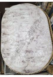 Турецкий ковер с скидкой 25% из акрила Barokko Delux 8309 oval