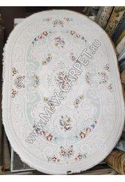 Турецкий ковер с скидкой 25% из акрила Truva 18054 oval