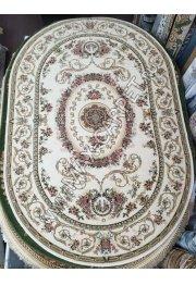 Молдавский ковер шерстяной Floare-carpet 284-1567 Oval с скидкой 20%