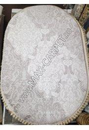 Турецкий ковер с скидкой 25% из акрила Barokko Delux 8311 oval