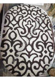 Российский ковер с скидкой 20% Platinum 620 brown Cream овал