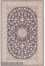 Польский ковер из шерсти Isfahan Segowia anthracite