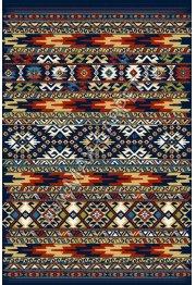 Польский ковер из синтетики Agnella Standard Kamal navy blue